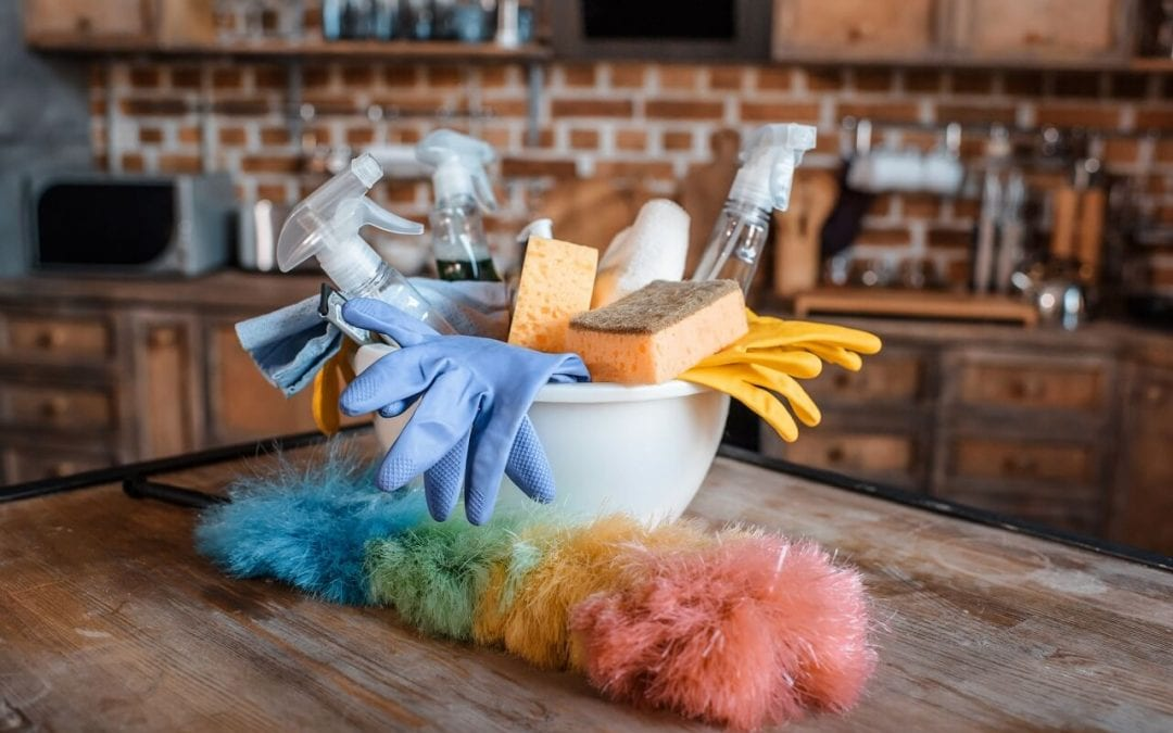 chemicals into your home